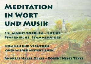 Meditation in Wort und Musik @ Pfarrkirche Stammersdorf