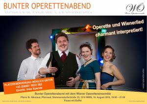 Bunter Operettenabend @ Pfarre Stammersdorf, Pfarrsaal | Wien | Wien | Österreich