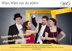 Wien, Wien nur du allein @ Pfarre Stammersdorf, Pfarrsaal | Wien | Wien | Österreich
