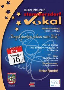 Weihnachtskonzert von Stammersdorf Vokal @ Stammersdorfer Pfarrkirche