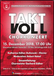 Chorkonzert des Stammersdorfer MGV @ Kulturzentrum Volksheim Stammersdorf