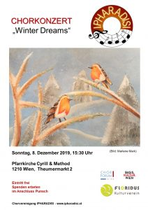 Chorkonzert Winterdreams - Chorvereinigung Ipharadisi @ Pfarrkirche Cyrill & Method