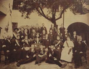 Fahnenweihe 1895
